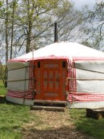 The Yoghurt Rooms Yurts