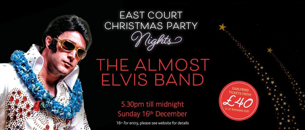 1d845dd1223 Christmas Party Night with the Almost Elvis Band at East Court